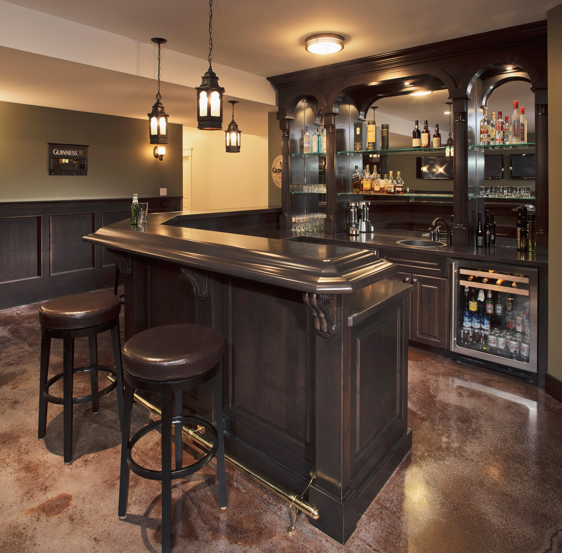 Home Bar Decor Ideas: Stephens Fine Homes